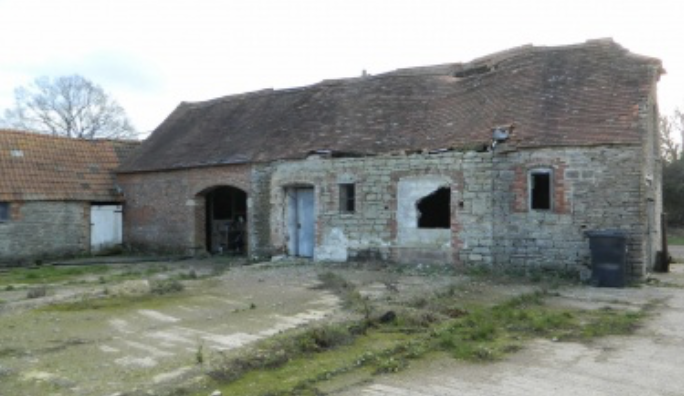 Barn for sale for conversion to dwelling