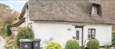 Thatched cottage for sale