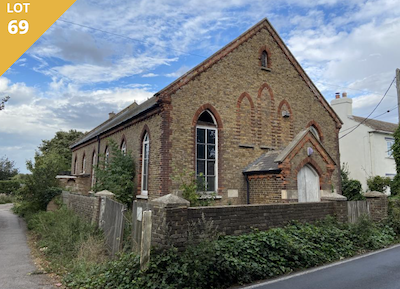 Methodist chapel for sale