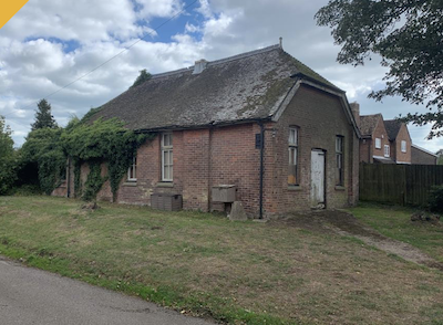 Village hall for sale