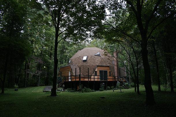 Buckminster fuller images for Dymaxion house plans